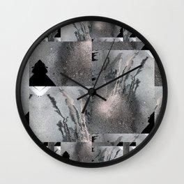 Half Wall Clock