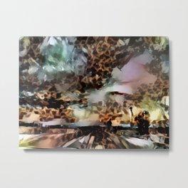 Thunderous Sunset Ahead Metal Print