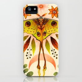 Moth Wings IV iPhone Case