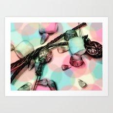 Candy Friday Night Art Print