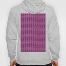 loose Everything small is beautiful mosaic zigzag Hoody