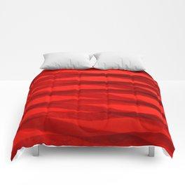 Scarlet Shadows Comforters