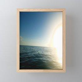 Peripheral Gleam Framed Mini Art Print
