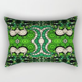 art retro pattern Rectangular Pillow