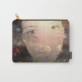 Catalina's Portrait / Retrato artístico de Catalina Carry-All Pouch