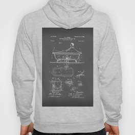 Rocking Oscillating Bathtub Patent Engineering Drawing Hoody