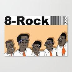 1001 Black Men--#222 Canvas Print