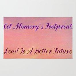 Memory's Footprints Rug