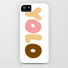 YOLO Donuts iPhone (5, 5s) Slim Case