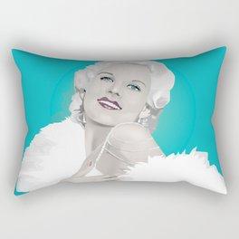 Platinum Blonde - Jean Harlow Rectangular Pillow