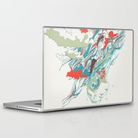 huebucket Laptop & iPad Skins featuring Colours In The Sky by Huebucket