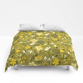 Finally Easter! [mustard] Comforters