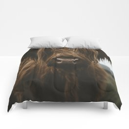 Scottish Highland Cattle Comforters
