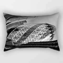 The Gherkin London Rectangular Pillow