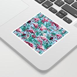 Spring Summer Floral Pattern Sticker