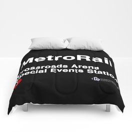 Crossroads Arena Special Events Station Comforters