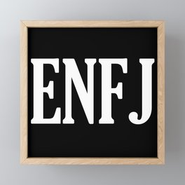 ENFJ Personality Type Framed Mini Art Print