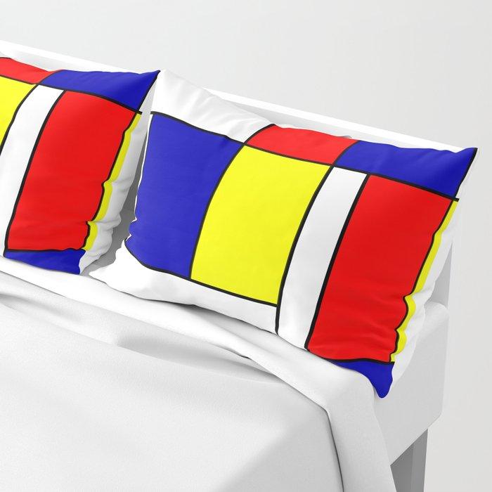Mondrian #38 Pillow Sham