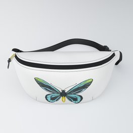 Queen Alexandra' s birdwing butterfly Fanny Pack