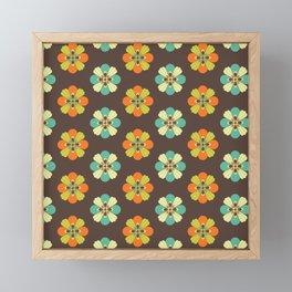 Retro Flower 301 Framed Mini Art Print