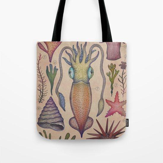 Aequoreus vita III / Marine life III Tote Bag