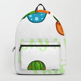 Succulent Plant Gift Cactus Garden Pot Backpack