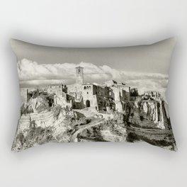 Civita di Bagnoregio, Italy Rectangular Pillow