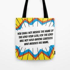 The Third Commandment Tote Bag