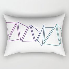 Trangles Rectangular Pillow