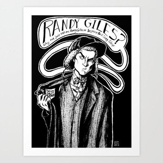 Randy Giles Art Print