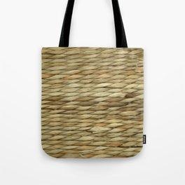 Weaved texture Tote Bag