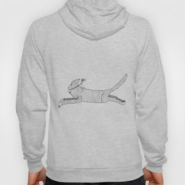 Flying Cat with Female Pilot Hoody