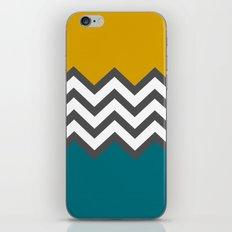 Color Blocked Chevron iPhone & iPod Skin