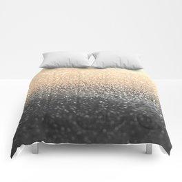 GOLD BLACK Comforters