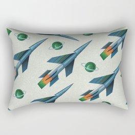 Rockets Pattern Rectangular Pillow