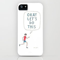 Okay let's do this iPhone (5, 5s) Slim Case