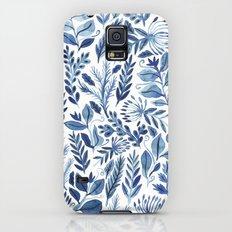 indigo scatter Galaxy S5 Slim Case