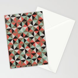 Geometric Patterns Stationery Cards