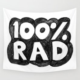 100 % RAD - Bubble Wall Tapestry