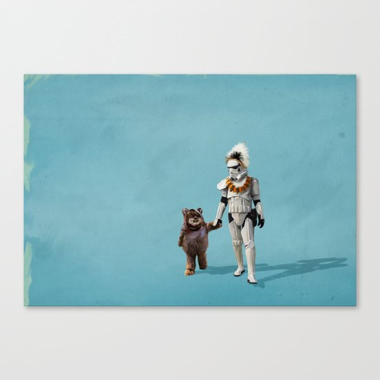 Star Wars Buddies Canvas Print