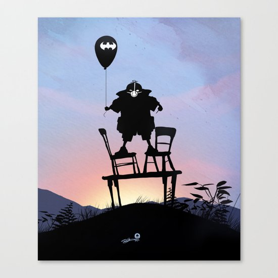 Bane Kid Canvas Print