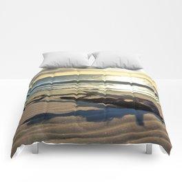 Sunset Driftwood Comforters