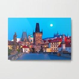 PRAGUE 001A Metal Print