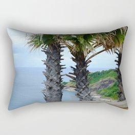 phuket tai palm Rectangular Pillow