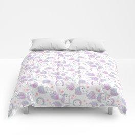 Spring Hedgehog Pattern Comforters