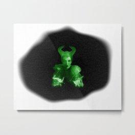 Maleficent's Evil Spell / Sleeping Beauty Metal Print