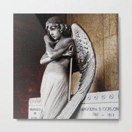 Angel of the Resurrection - Oneto Family Plot Portrait #2 by Jeanpaul Ferro Metal Print