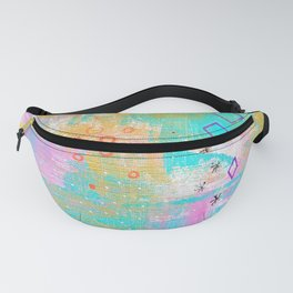 Abstract Expression Fanny Pack