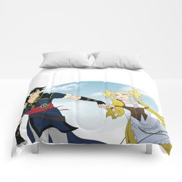 Lon'Qu and Lissa Comforters