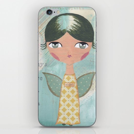 She is always there for you iPhone & iPod Skin